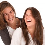 Laughing together